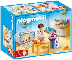chambre bébé playmobil playmobil city 4286 pas cher chambre de bébé