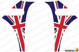 English Flag Mini Cooper Bmw R56 Precision Cut British Flag Union Jack English