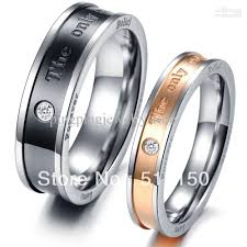 his and hers engagement rings his and hers promise ring sets fashion stainless steel