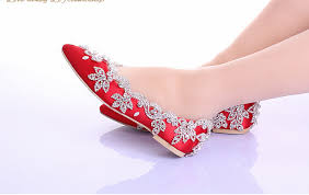 wedding shoes no heel hot 2015 new white wedding shoes no heels with rhinestones