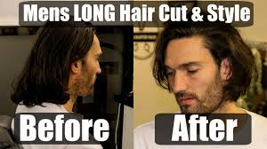 mens long hair cut u0026 style inspiration for 2017 youtube