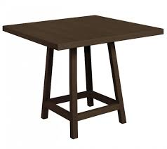 40 Inch Round Table Crp 40 Inch Square Table Top With Pub Table Legs