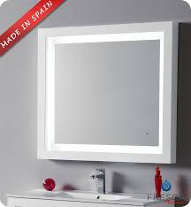 elegant bathroom mirror with lights and bathroom mirrors with led