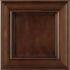 the home depot kitchen cabinet doors thomasville classic addington 14 1 2 x 14 1 2 in cabinet door sle in roast 772515397028 the home depot
