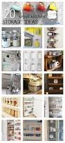 Storage Ideas For The Kitchen 20 Small Kitchen Storage Ideas Idea Box By Freckled Laundry Jami