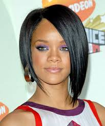 hairstyles short one sie longer than other 25 most iconic rihanna hairstyles and haircuts