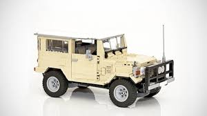 classic land cruiser this lego toyota land cruiser bj42 deserves to reach production