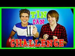 Challenge Shane Tin Can Challenge With Shane Dawson