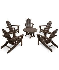 Trex Furniture Composite Table And Cape Cod 6 Piece Conversation Set Beach Grill