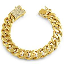 bracelet clasps gold images 15mm iced clasp gold luxury cuban bracelet jewelryfresh jpg