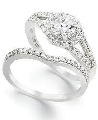 macy s wedding rings sets bridal sets macy s wedding ring sets