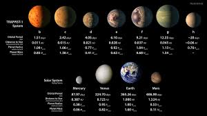 This solar system of seven earth sized planets may be the best