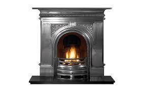 pembroke full polish cast iron fireplace