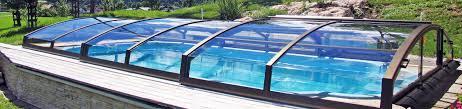 closed retractable swimming pool enclosure imperia sunrooms