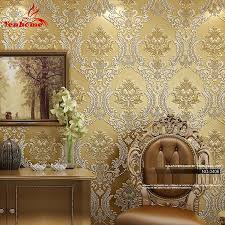 wall decor winsome shabby chic floral wallpaper in various