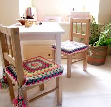 Crochet Armchair Covers Happy Crochet Chair Covers Fundas De Silla Tejido Y Sillas