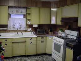 Antique Metal Kitchen Cabinets Harvest Gold Metal Kitchen Cabinets On The Forum Retro Renovation