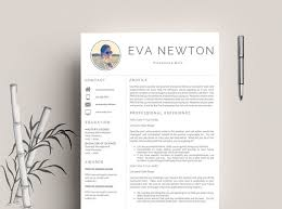 23 best resume template cover letter professional u0026 modern