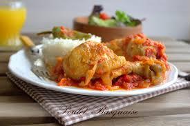 cuisine poulet basquaise poulet basquaise recette facile amour de cuisine