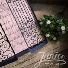 Wholesale Wedding Invitations Door To Happiness U0027 Laser Cut Wholesale Wedding Invitation Cards