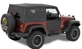 jeep wrangler unlimited soft top 2007 2018 jeep wrangler bestop half doors bestop 53041 35