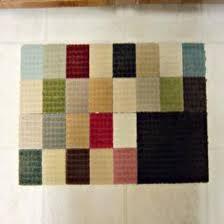 Squares Rug Carpet Sample Rug Diy Mother Earth News