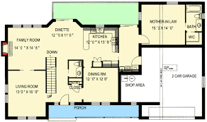 the mother in law cottage mother in law suite garage floor plans narrow lot plan with basement