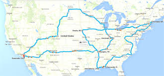 map usa route planner road trip route planner for usa all world maps