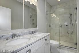 White Cabinet Bathroom Ideas Photos Of Contemporary 3 4 Bathroom With White Cabinets I G