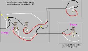 wiring diagram how to wire a split receptacle controlled by