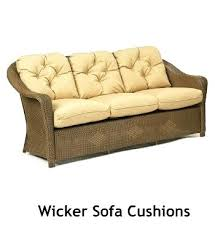Patio Furniture Cushions Replacement Wicker Furniture Replacement Cushions Madaga Wicker Chair Wicker