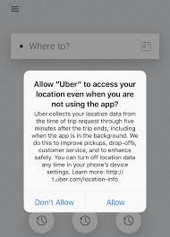 uber wants to track your location even when you u0027re not using the