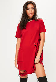 t shirt dresses shop oversized graphic u0026 band missguided