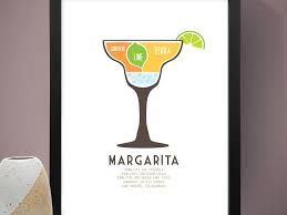 cocktail recipes poster beautiful margarita poster and best ideas of cocktail drink recipe