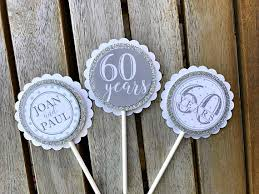 60th wedding anniversary decorations diamond jubilee decorations 60th wedding anniversary decor