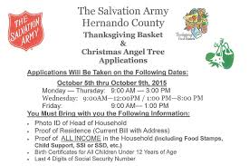 thanksgiving basket tree applications united way of