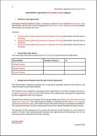 business agreements participation agreement template business