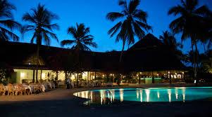 zanzibar bluebay beach resort pool at night pure tanzania