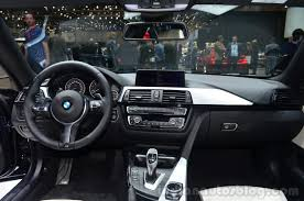 bmw 4 series gran coupe interior bmw 4 series gran coupe dashboard view at geneva motor