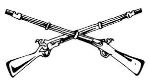 tattoo clipart rifle pencil and in color tattoo clipart rifle
