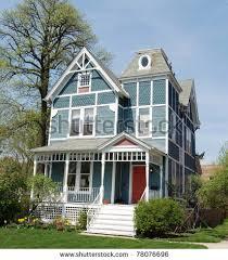 blue victorian house by dorn1530 via shutterstock exterior