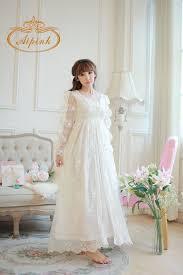 robe de chambre blanche chemise de nuit dentelle femme robes de soirée et mode femme