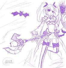 aisha void princess sketch draw owo by monusha on deviantart