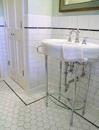 vintage bathroom tile ideas vintage hexagon bathroom tile agreeable interior design ideas