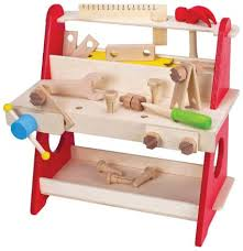 bench press black friday amazon amazon com wooden tool bench workbench 39 pieces toys u0026 games