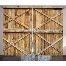 Rustic Curtains And Drapes Rustic Curtains U0026 Drapes You U0027ll Love Wayfair