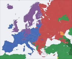 Europe Map Ww1 by Europe Religion Map U2022 Mapsof Net