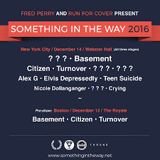 run for cover throwing fest at webster hall with basement citizen
