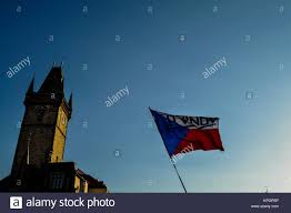 Czechoslovakia Flag 1938 Czech Nationalism Stock Photos U0026 Czech Nationalism Stock Images
