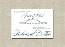 Rehearsal Dinner Invitations Creative Rehearsal Dinner Invitation Paper With Inspiring Wording